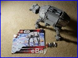 Lego Star Wars Motorized Walking AT-AT 10178 100% Complete with Manuals