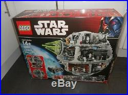 Lego Star Wars Rare 10188 UCS Death Star Complete Box Instructions Minifigures