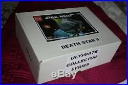 Lego Star Wars UCS 10143 Death Star II 100% complete w Instruction Book RARE