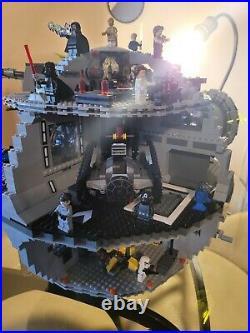 Lego star wars death star 75159 with Brand new Mindstorm and Brick Headz Bee