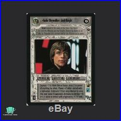 Luke Skywalker, Jedi Knight DS2 Death Star II Star Wars CCG SWCCG TCG
