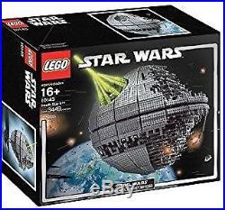 MINT UCS Lego Star Wars DEATH STAR 10143