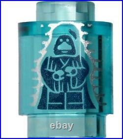 NEW LEGO Figure Head Star Wars Emperor Palpatine Hologram x1- 7964 10221