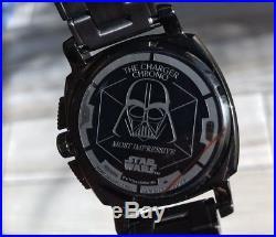Nixon Darth Vader Star Wars Limited Edition Charger Chrono 42MM Death Star $475