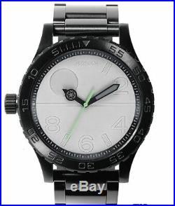 Nixon Star Wars Death Star Black 51 30SW MEN'S Wrist Watch Water Resist Miyota
