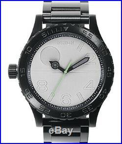 Nixon x Star Wars 51-30 Death Star Analog Watch Black/Grey/Green