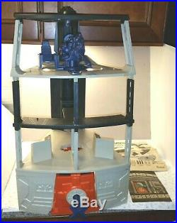 ORIGINAL Vintage 1977 Kenner Star Wars Death Star Space Station Playset Lot RARE