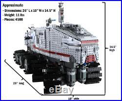 PreOrder Custom Lego Star Wars RC Turbo Tank UCS 8098 75192 75159 10143 10188