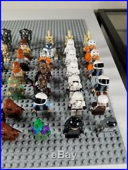 Rare 63 Lego Star Wars Minifigures Death Star Trooper Clone Recon Trooper HH