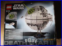 Rare LEGO UCS Star Wars 10143 Death Star II Sealed
