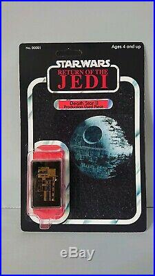 Rare Star Wars Screen Used Prop Death Star Mint Moc Vintage Style Custom