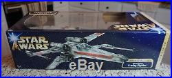 Red Leader's X-Wing Fighter 2004 STAR WARS Death Star Trench Saga MIB