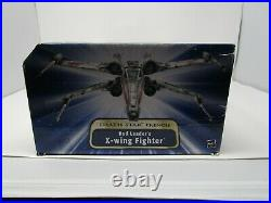 Red Leader's X-Wing Fighter STAR WARS Saga Collection Death Star Trench MIB