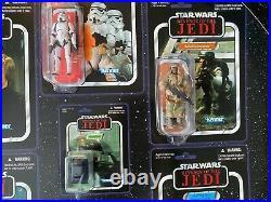 Revenge of the Jedi Death Star II SDCC 2011 set exclusive RARE VC mini cards