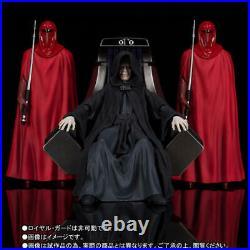 S. H. Figuarts Star Wars Palpatine Death Star II Throne Room Figure Set Bandai