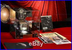 STAR WARS IV DEATH STAR Screen-Used LARGE Prop Lit CASE, DVD, COA London Prop