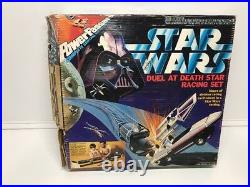 STAR WARS POWER PASSERS DUEL At DEATH STAR VADER LUKE SLOT RACING SET 1978