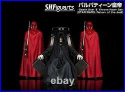 STAR WARS S. H. Figuarts Palpatine Emperor Royal Guard Figure Set Death Star