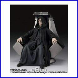 STAR WARS S. H. Figuarts Palpatine & Royal Guard Death Star II Throne Room Set