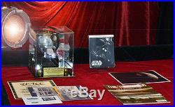 STAR WARS Screen-Used Prop DEATH STAR, COA London Prop Store, DVD Lit CASE, Mag
