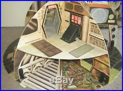 STAR WARS VINTAGE French MECCANO Deathstar Playset MIB complete