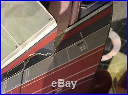 STAR WARS Vintage Cardboard DEATH STAR Playset with box RARE