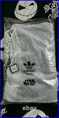 STAR Wars Adidas Neu! Super Death Star Stormtrooper Collegejacke Sammlerzustand
