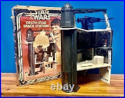Star Wars 1977 Death Star Space Station Playset Vintage Kenner