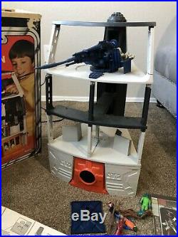 Star Wars 1977 Vintage Kenner Canadian Death Star Space Station Playset AS IS