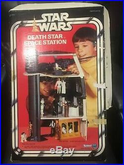 Star Wars 1977 Vintage Kenner Canadian Death Star Space Station Playset Boxed
