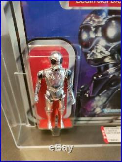 Star Wars 21 Back-a Death Star Droid Afa 85 80/85/85 Moc Kenner 1979 Cas
