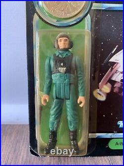 Star Wars A Wing Pilot Potf Moc Kenner Vintage 1984 Rotj Death Star