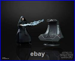 Star Wars Black Series Emperor Palpatine And Death Star Throne Exclusive Set