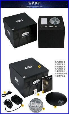 Star Wars Bluetooth Speaker New Original Ihome Death Star Li Rotating Stereo