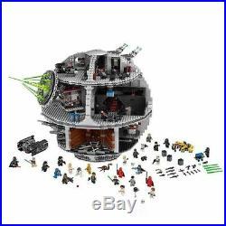 Star Wars Building Blocks Bricks Death Star Wars Fighter Compatible 10188 75159