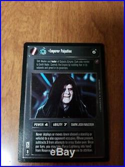 Star Wars CCG Death Star 2 II UR Ultra Rare Emperor Palpatine