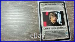 Star Wars CCG Death Star 2 Luke Skywalker, Jedi Knight SWCCG