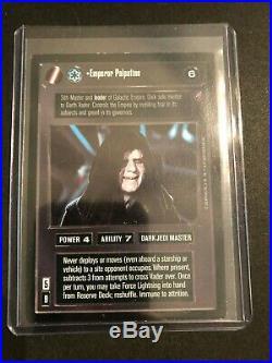 Star Wars CCG Death Star 2 UR Ultra Rare Emperor Palpatine from Decipher DSII