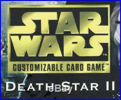 Star Wars CCG Death Star II 2 Near Set 180/182 Lord Vader Flagship Executor ++