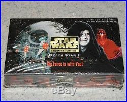 Star Wars CCG Death Star II Booster Box Factory Sealed 36 packs MINT LAST ONE