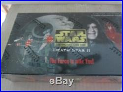 Star Wars CCG Death Star II Booster Box SEALED GEM MINT CONDITION 36 packs