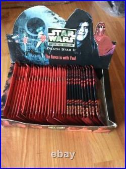 Star Wars CCG Death Star II Booster Box no shrink 36 packs mint box last 1