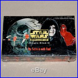 Star Wars CCG Death Star II Booster Display (Decipher, SWCCG, Limited) NEU