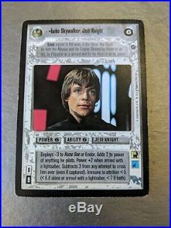 Star Wars CCG Death Star II UR(Ultra Rare) Luke Skywalker, Jedi Knight