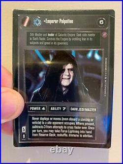 Star Wars CCG Emperor Palpatine Ultra Rare (UR) Death Star II 2 SWCCG