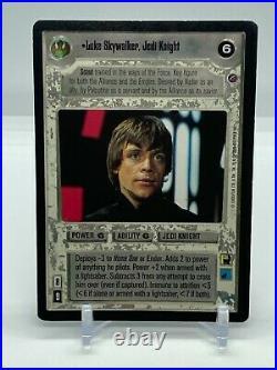 Star Wars CCG Luke Skywalker, Jedi Knight Death Star 2 Ultra Rare SWCCG MP