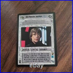 Star Wars CCG Luke Skywalker Jedi Knight Ultra Rare Death Star II