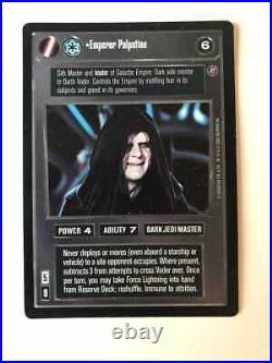 Star Wars CCG UR Emperor Palpatine Ultra Rare Decipher Death Star 2 DS II (NM)
