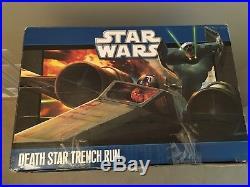 Star Wars DEATH STAR TRENCH RUN Luke R2-D2 X-Wing Darth Vader TIE Advanced
