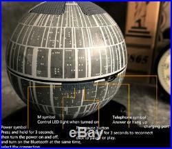 Star Wars DS-1 Platform Magnetic Suspension Bluetooth Speaker Death Star Gift